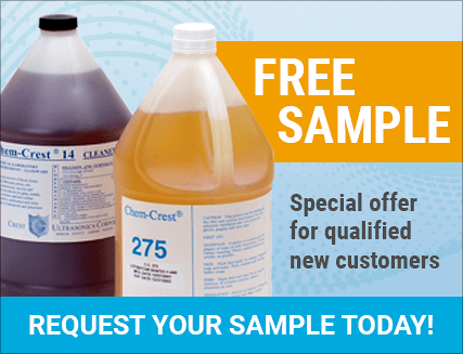 free sample offer - ultrasonic cleaning solution