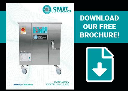 download the Crest ultrasonic digital sink brochure