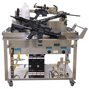ultrasonic weapons cleaner
