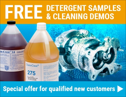free detergent sample and cleaning demo