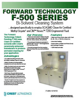 F-500 datasheet