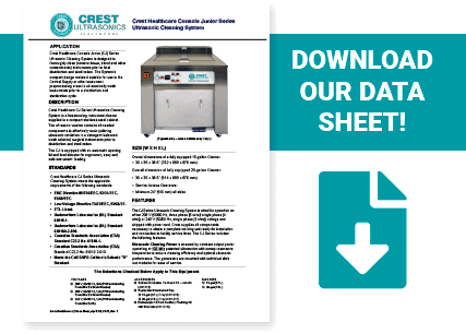 Crest Healthcare PJ Series Data Sheet