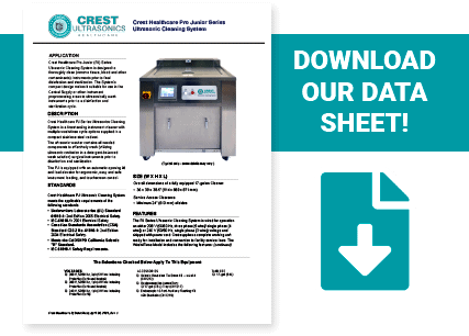 download the Crest Healthcare Pro Junior data sheet