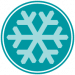 snow cleaning icon